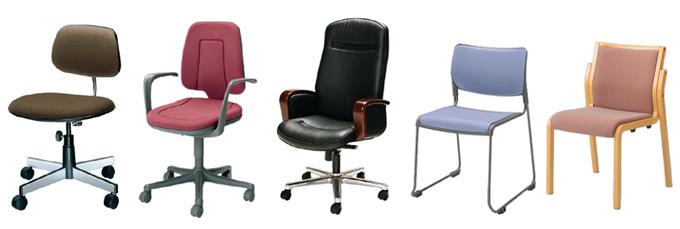 引き取り可能な椅子